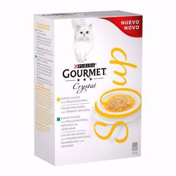 Imagem de GOURMET CRYSTAL | Soup Chicken & Vegetables 4x40g