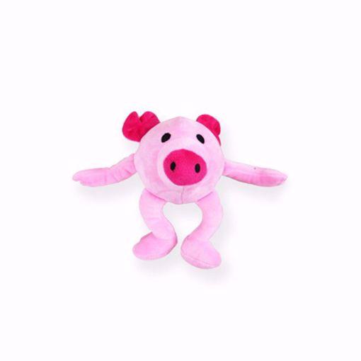 Imagem de PAWISE | Peluche Happy Bouncer Saltitante Porco