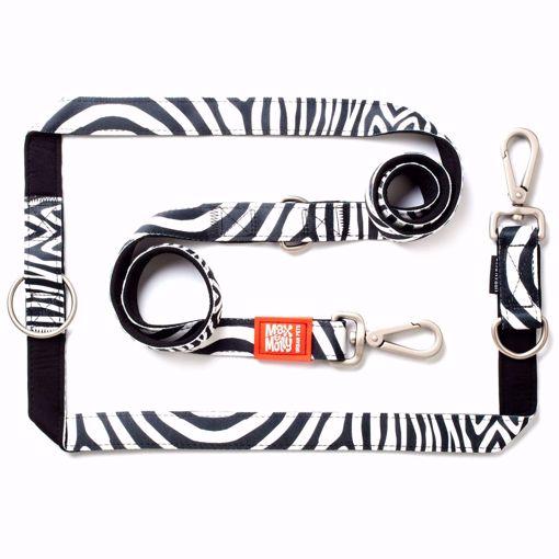Imagem de MAX & MOLLY | Trela Multi Função Zebra