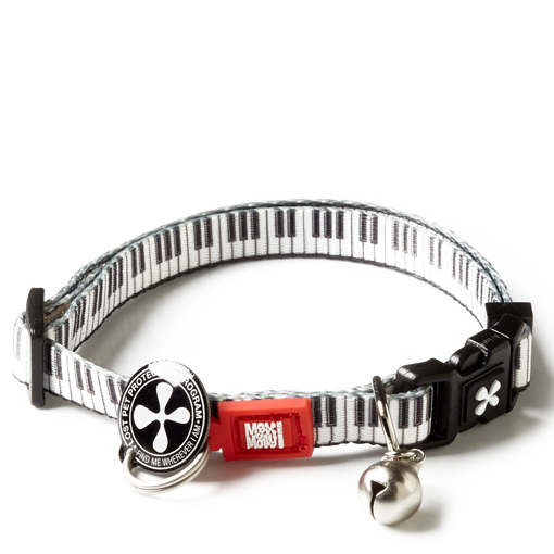 Imagem de MAX & MOLLY | Coleira Piano para GATO