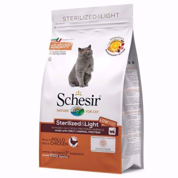 Imagem de SCHESIR | Cat Sterilized & Light com Frango