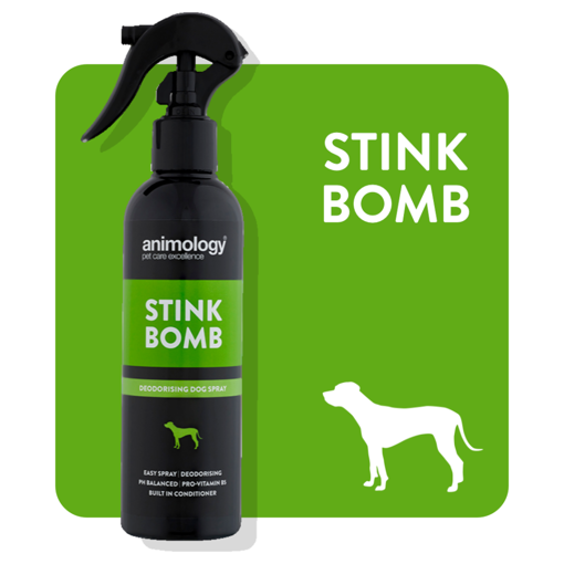 Imagem de ANIMOLOGY Dog | Spray Desodorizante  Stink Bomb 250 ml