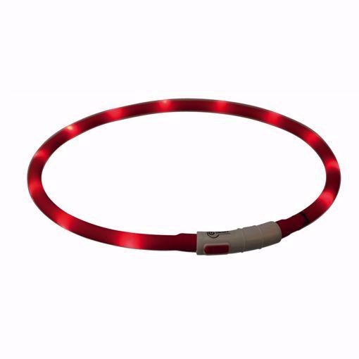 Imagem de TRIXIE | Coleira Flasher USB Vermelha