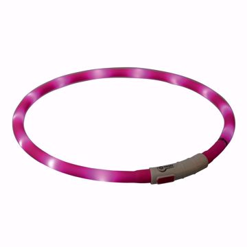 Imagem de TRIXIE   Colar Flasher USB Rosa