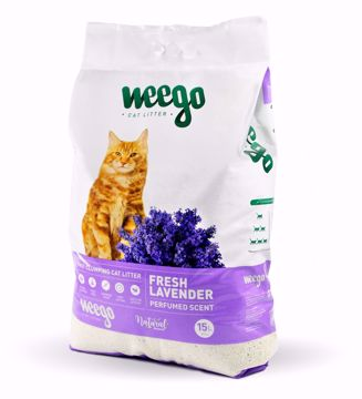 Imagem de WEEGO | Fresh Lavender Areia para gato