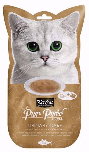 Imagem de KitCat | PurrPuree Plus+ Urinary Care ( Tuna&Cranberry ) 4x15g