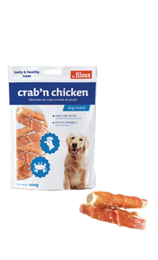 Imagem de LES FILOUS | Snack Crab & Chicken 100 g