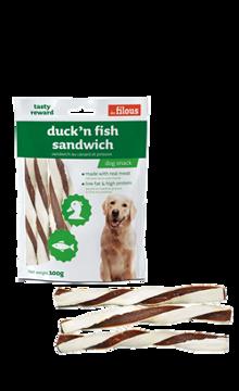 Imagem de LES FILOUS | Snack Duck & Fish Sandwich