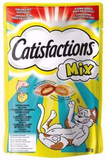 Imagem de CATISFACTIONS | Snack Queijo & Salmão 60 g