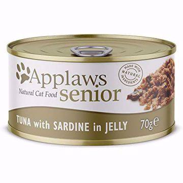 Imagem de APPLAWS Cat | Senior Tin Tuna with Sardine 70 g