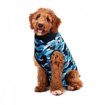Imagem de SUITICAL Dog   Recovery Suit® - Fato de Recuperação pós Cirurgico    Blue Camo
