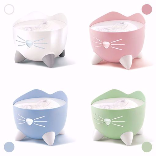 Imagem de CATIT | Fonte para Gatos Pixi Coloridas